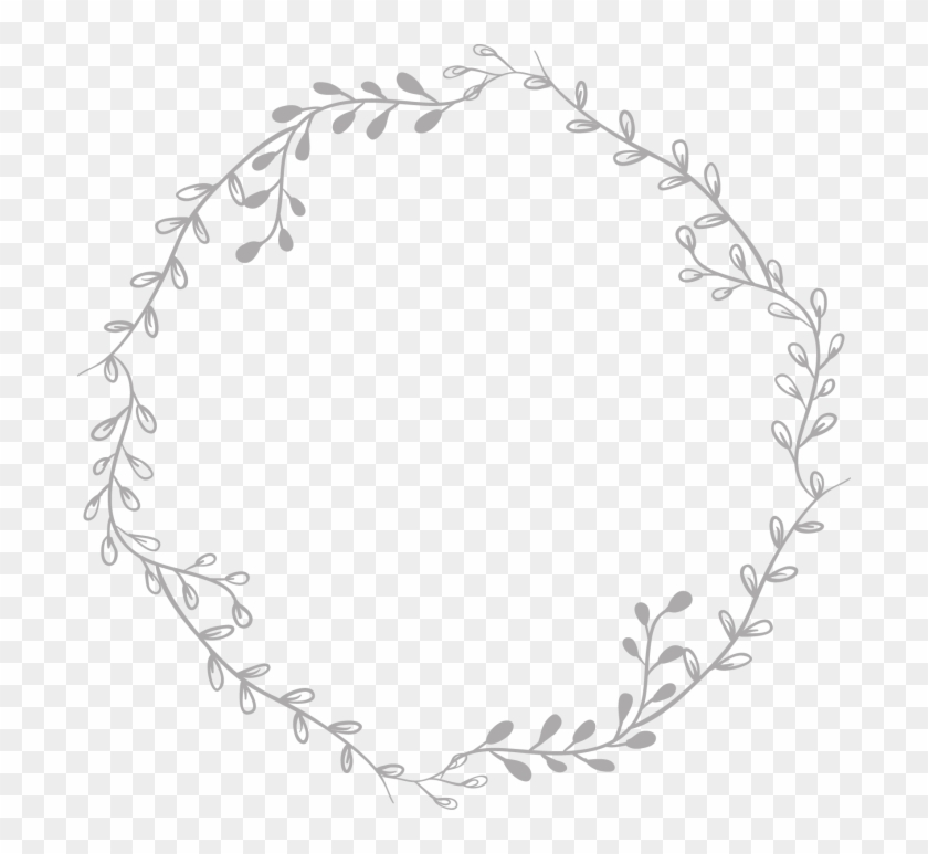Freetoedit Tumblr Remixit Aesthetic Circle Remixit Transparent Background Wreath Clipart Black And White Hd Png Download 700x693 228365 Pngfind