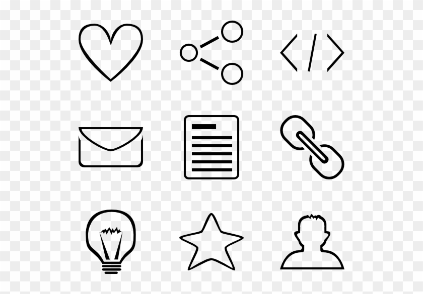 Minimal Outline Icons - Minimal Icon Png, Transparent Png