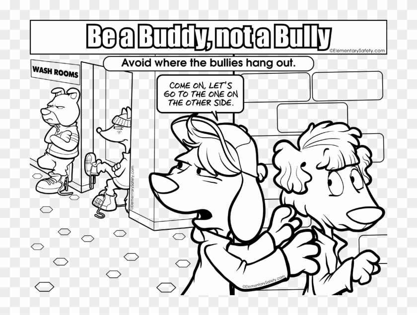 Bullying Coloring Pages Anti Bullying Coloring Pages - Bullying ...