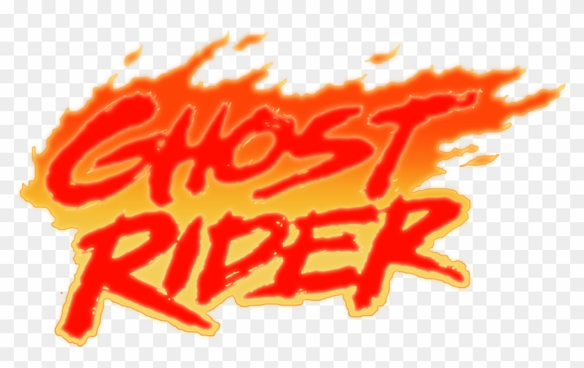 Ghost Rider Volume 2 Logo Recreated With Photoshop Ghost Rider