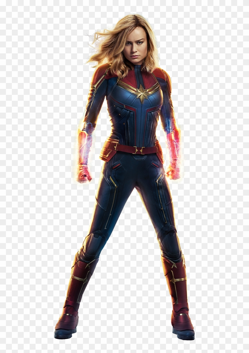 Transparent By Asthonx1 - Captain Marvel Transparent, HD Png
