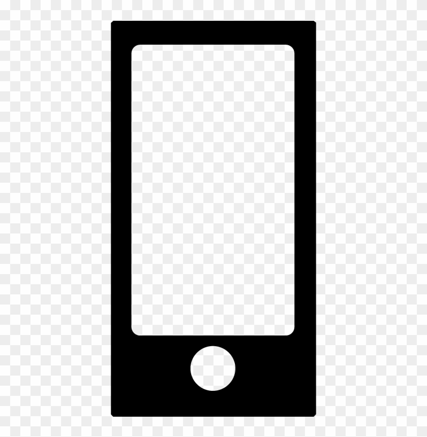 Ipod Nano Music Player Device Icon Vector Free Vector