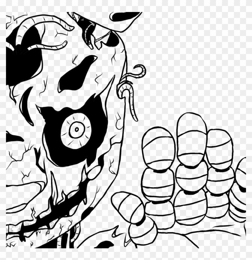 900 X 887 5 Free Springtrap Coloring Pages Hd Png Download