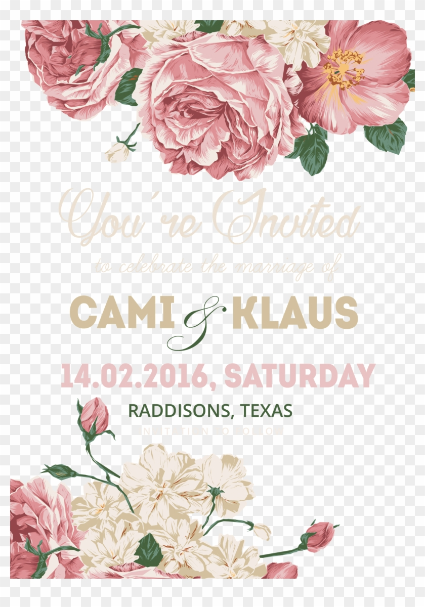 Flower Material Invitations Template Invitation Wedding - Wedding  Invitation Template Png, Transparent Png - 1575x2175(#2220264) - PngFind