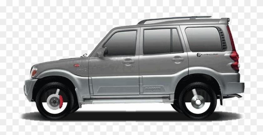 Aurangabad Car Rental Mahindra Scorpio Alloy Wheels Hd Png