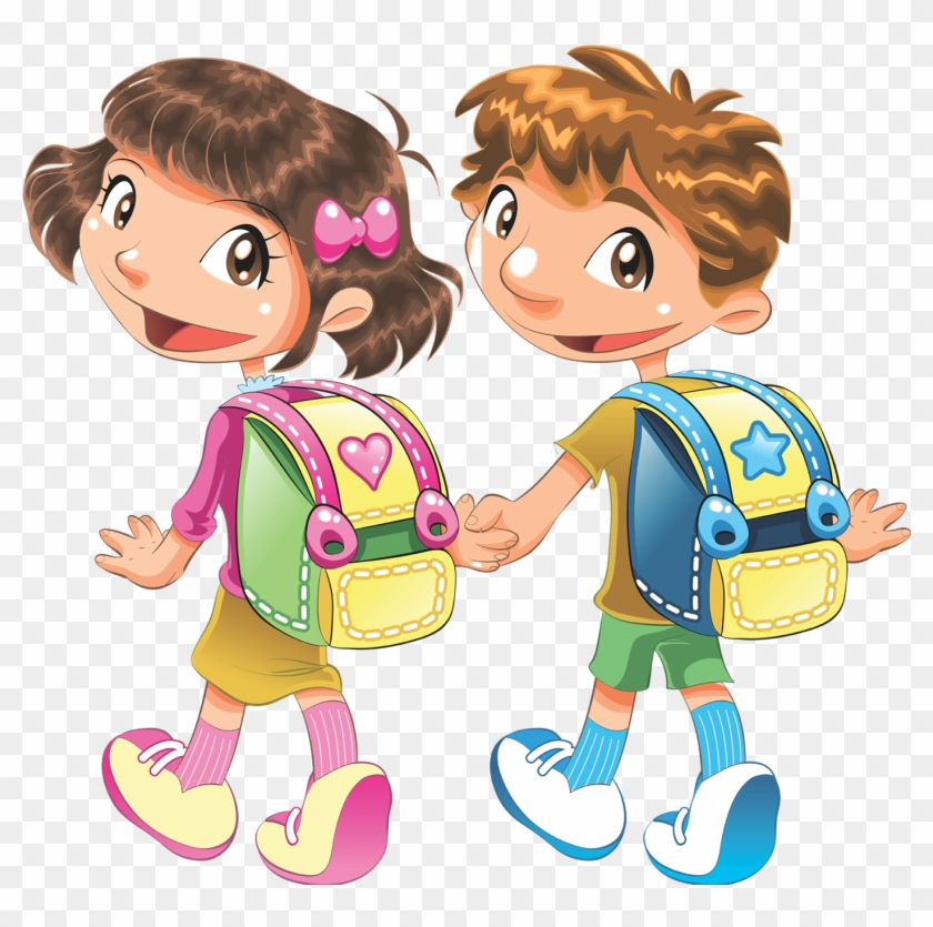 Kids At School Clipart - Png Download (#5307303) - PinClipart