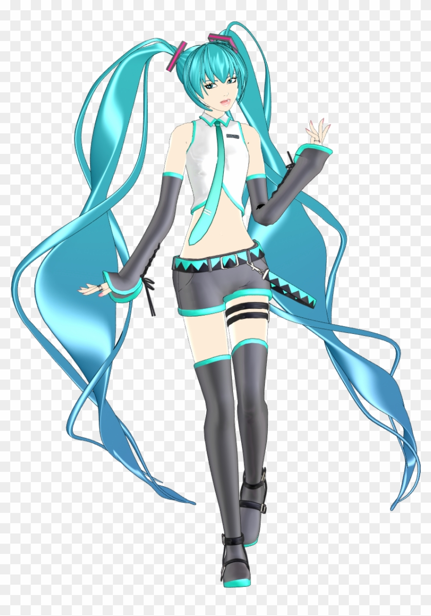 Today's Miku Module Of The Day Is - Sour Xuan Miku Mmd, HD