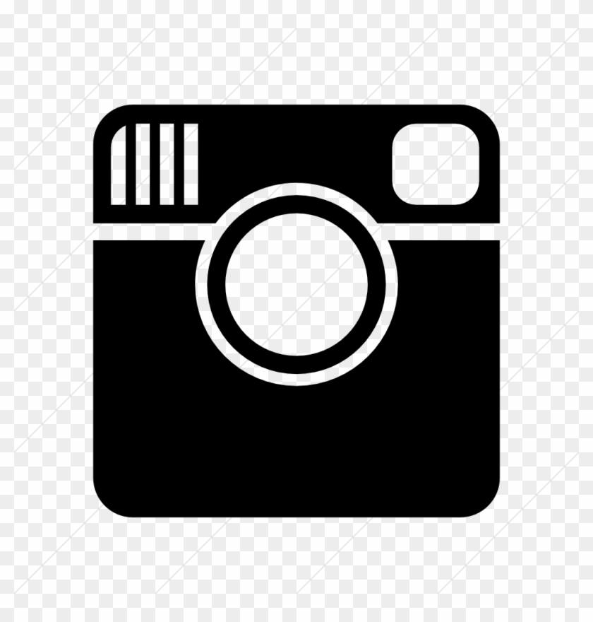 Instagram Social Icon Black - Red Instagram Icons Png ...