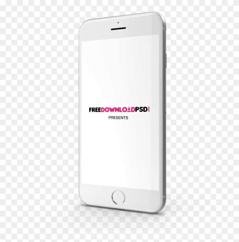 We Create Iphone 7 Silver Mockup For The Best Presentation - Free