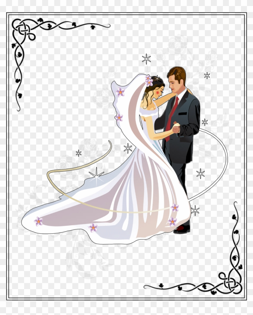 Wedding Cards Images Wedding Coloring Pages Engagement Wedding Bride And Groom Png Transparent Png 1123x1347 2248734 Pngfind