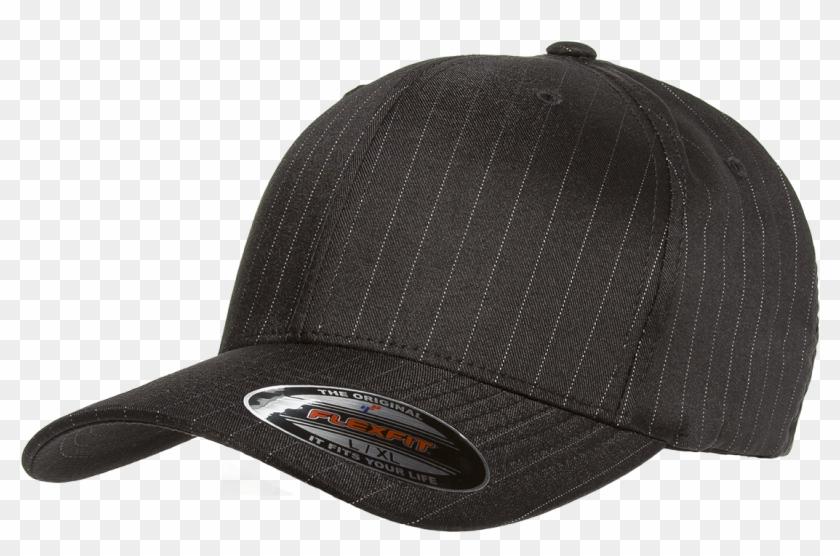 Flexfit Pinstripe Cap Wholesale Discount Flex Fit Hats