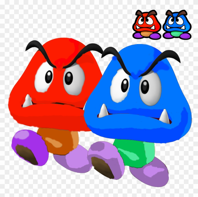 Mario goomba. X hd png