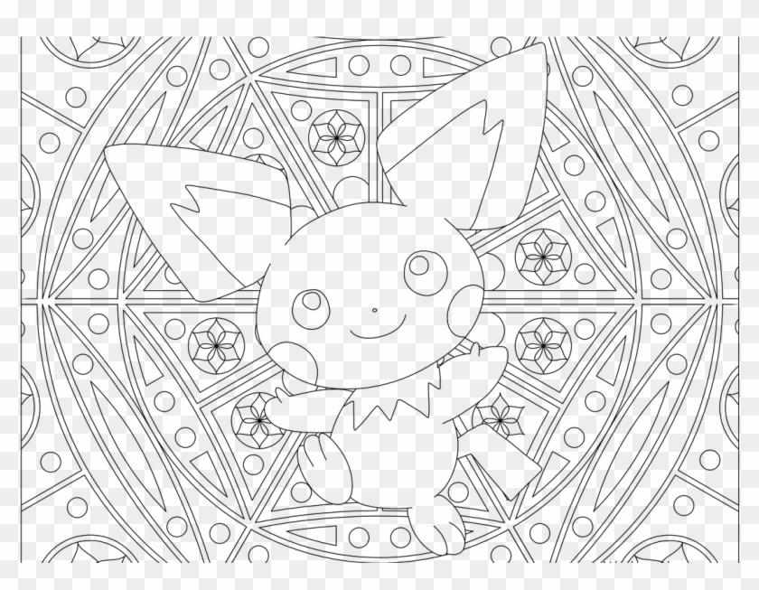 Pichu Pokemon 172 Color Pages