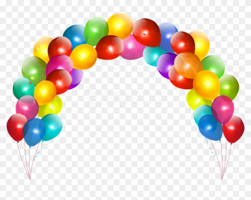Download Balloon Arch Png Images Background Arco De Balao
