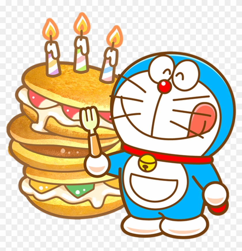 Doraemon Clipart Happy Birthday Wishes, HD Png Download