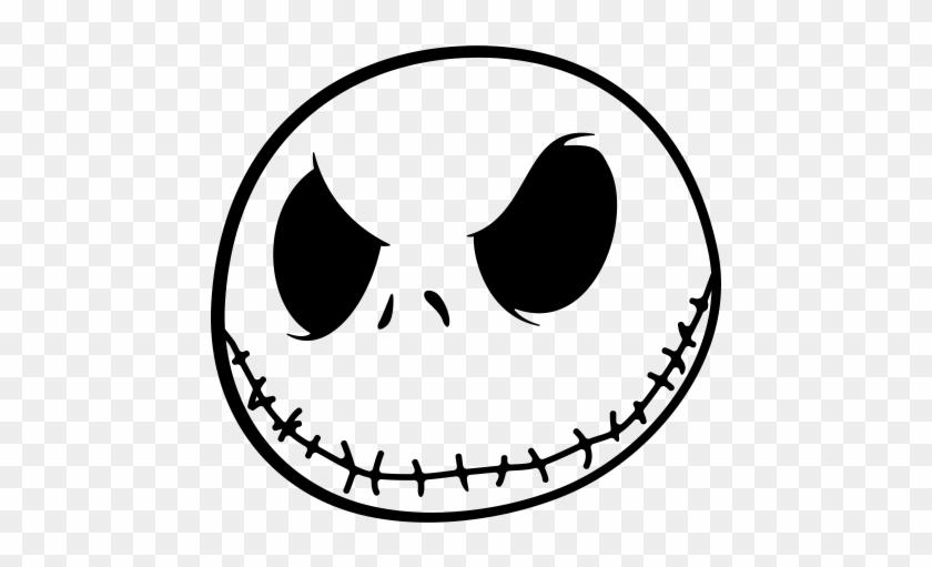 Jack Skellington Face Png - Jack From Nightmare Before ...