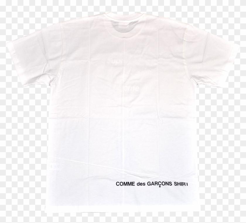 087bba774866 Supreme/comme Des Garçons Shirt Split Box Logo Tee - Cdg Supreme Tee Back  Logo