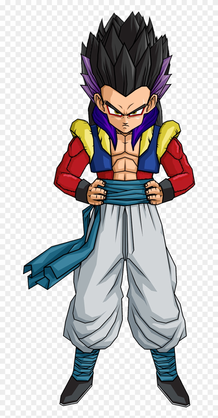 Gotenks Super Saiyan Dragon Ball Goten Ssj4 Hd Png Download 1200x1600 238260 Pngfind