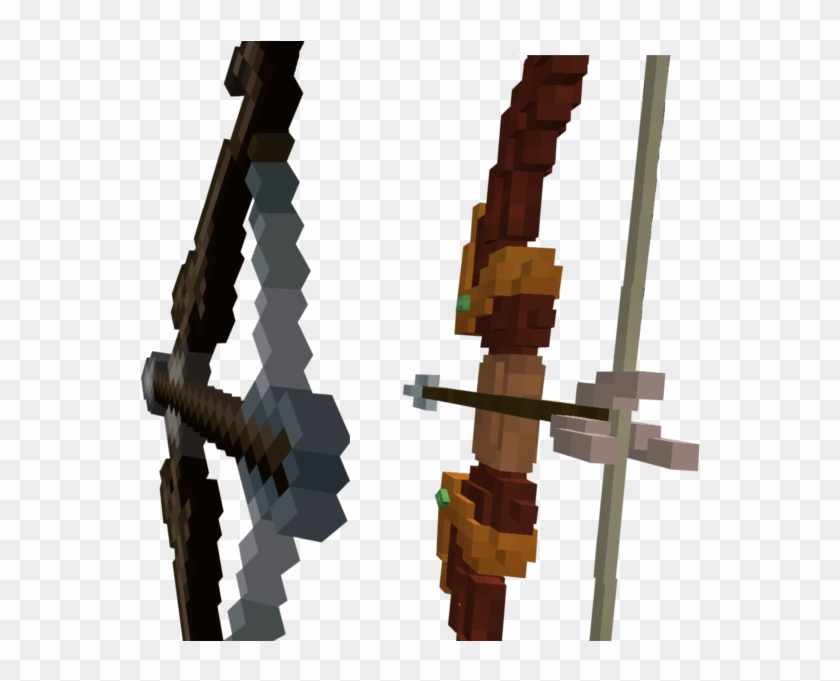Jvxu1qk - Minecraft Texture Pack Gun Bow, HD Png Download