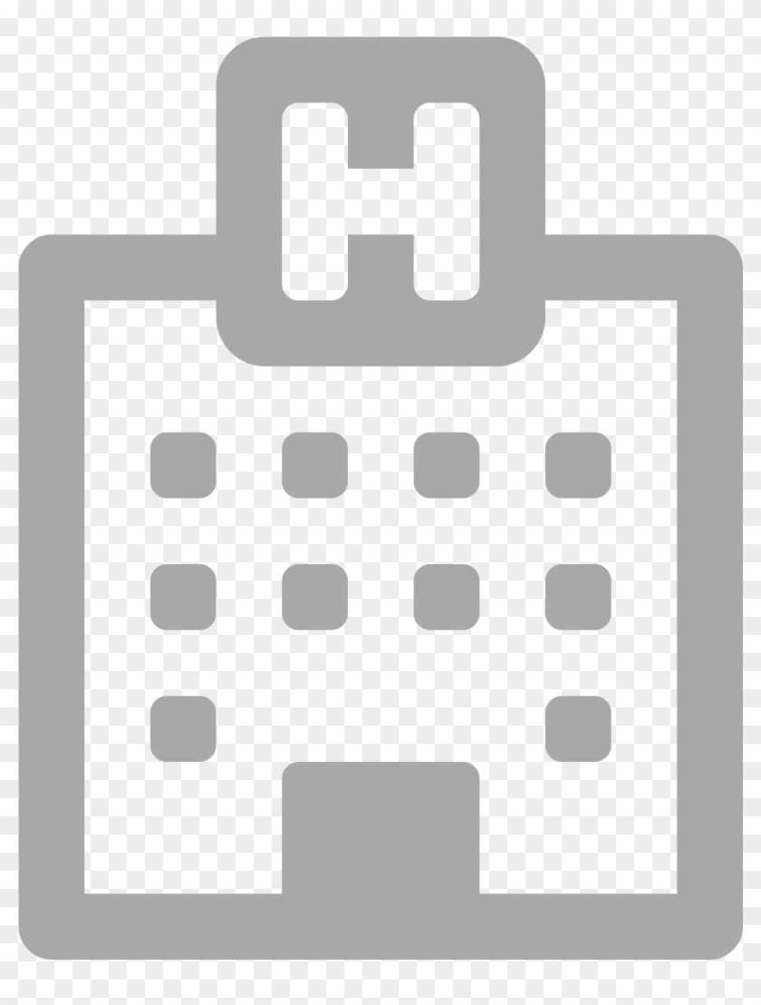 Hospital Icon Font Awesome , Png Download, Transparent Png