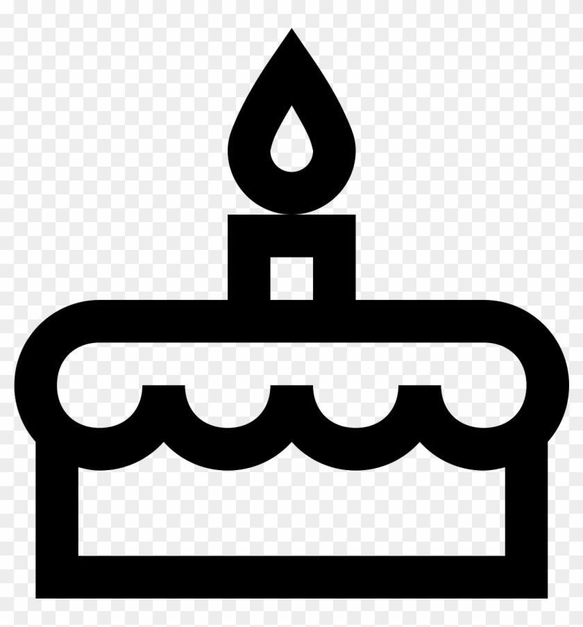 Swell Black Vector Birthday Cake Cake Icons Hd Png Download Funny Birthday Cards Online Elaedamsfinfo