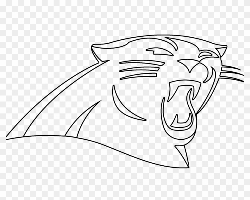 image relating to Carolina Panthers Printable Logo referred to as Down load Carolina Panthers Coloring Internet pages - Panthers Emblem