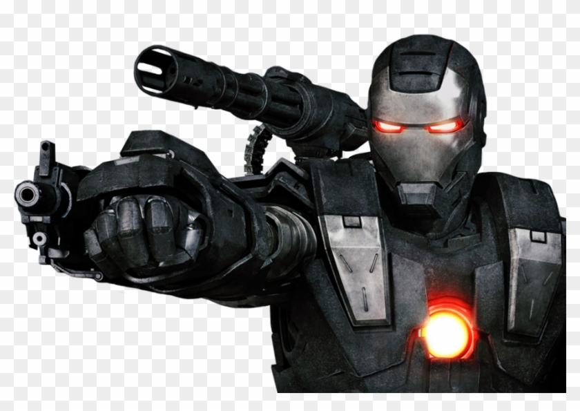 Share This Image - Iron Man 2 War Machine, HD Png Download