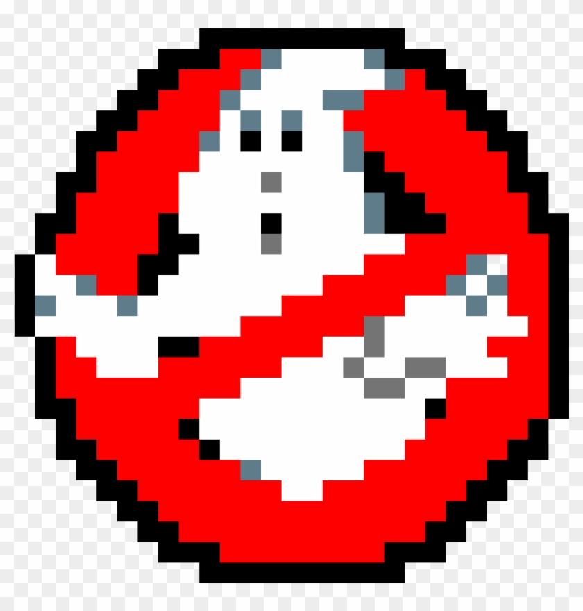 Ghostbusters Pixel Art De Cazafantasmas Hd Png Download
