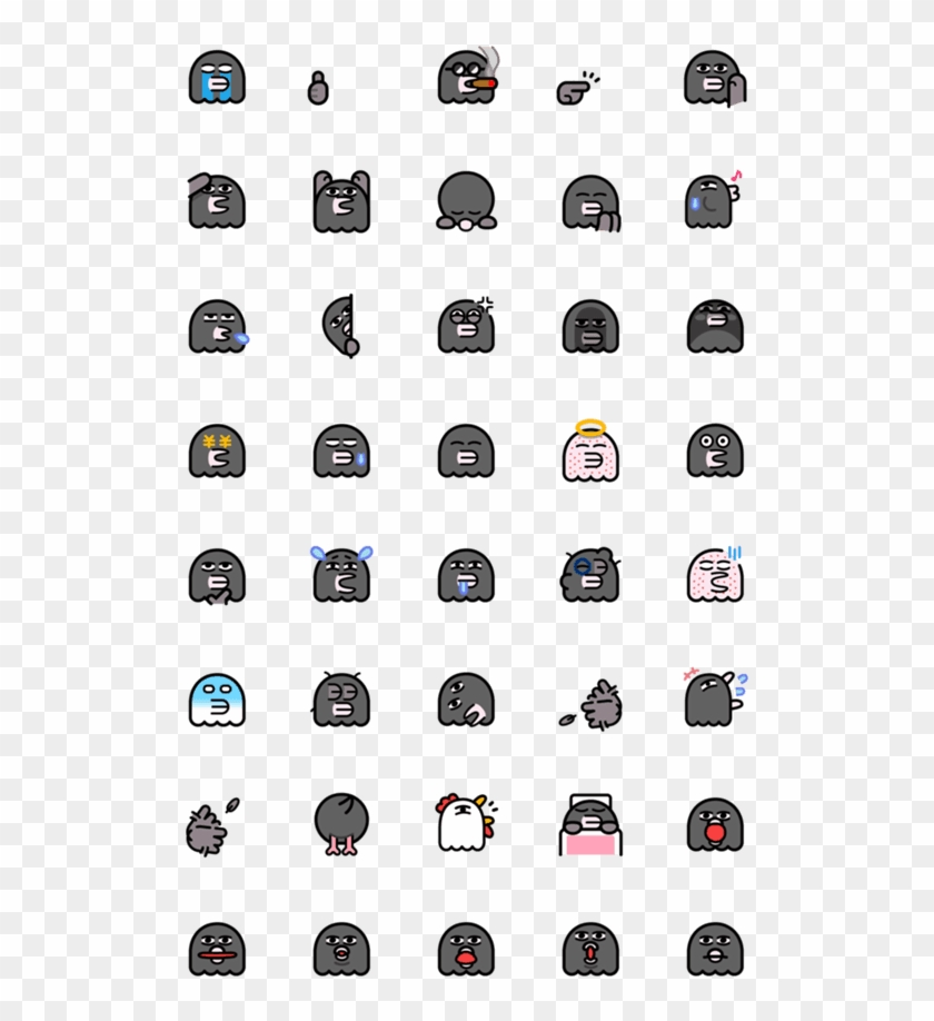 Creators' Emoji - Korean Alphabet 101, HD Png Download