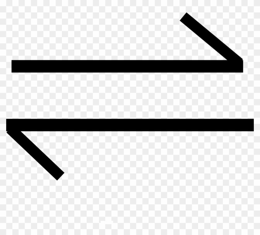 File - Equilibrium - Svg - Chemical Equilibrium Symbol, HD