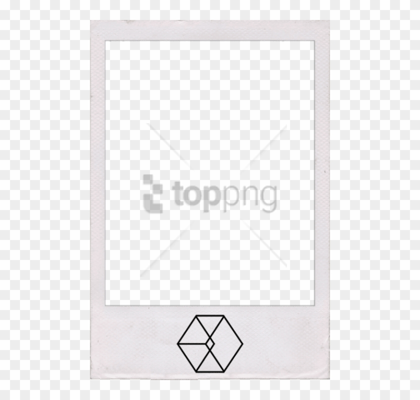 Free Png Polaroid Template Transparent Background Png - Triangle