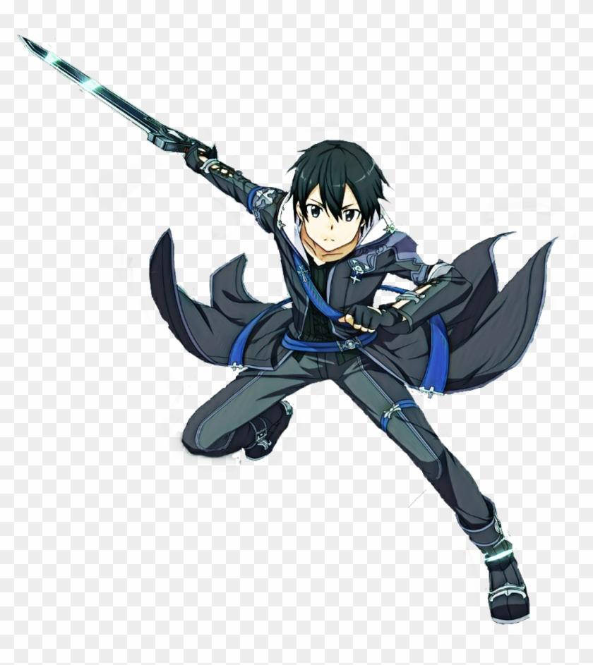 Kirito Sticker Sword Art Online Hollow Realization Kirito Hd Png Download 1024x1101 2345131 Pngfind