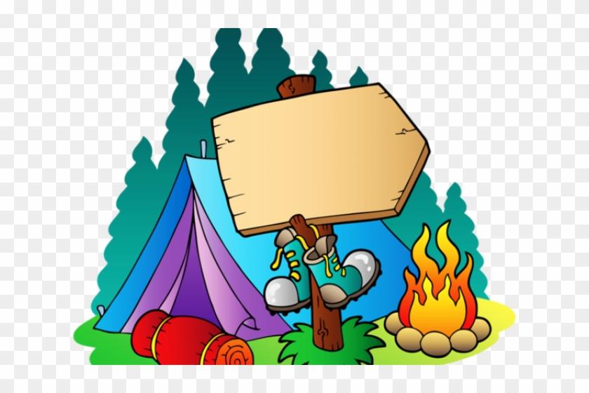 Camping cute. Clipart disney camp clip