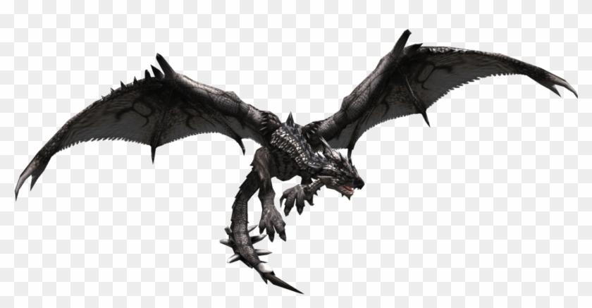 Wiki Monster Hunter Espanol Black Rathalos Hd Png Download