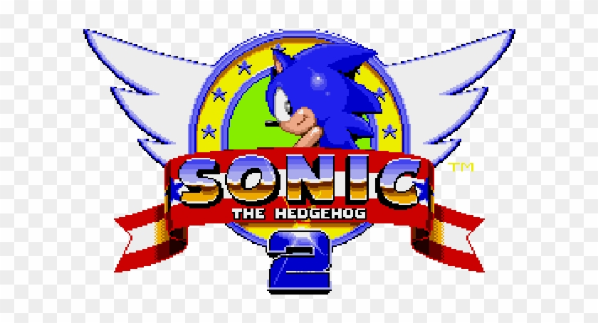 Sonic The Hedgehog 2 Classic Messages Sticker 3 Sonic The Hedgehog 1991 Logo Hd Png Download 618x618 2362775 Pngfind