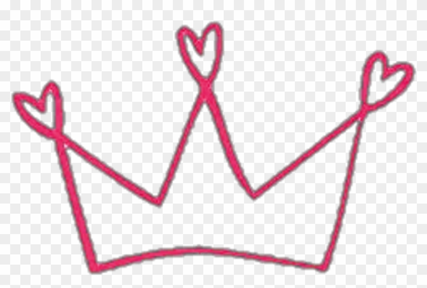 Crown Tumblr Hearts Love Aesthetic Sticker Png Tumblr Doodle