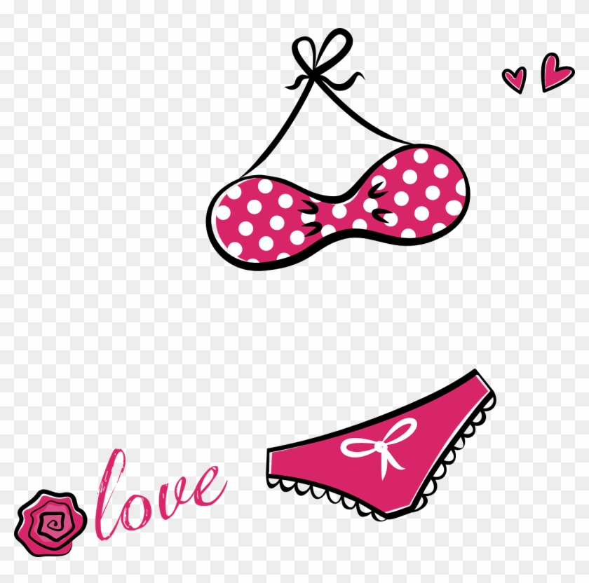 Bikini Lingerie Underwear Bra Png Image Desenho De Sutia Png