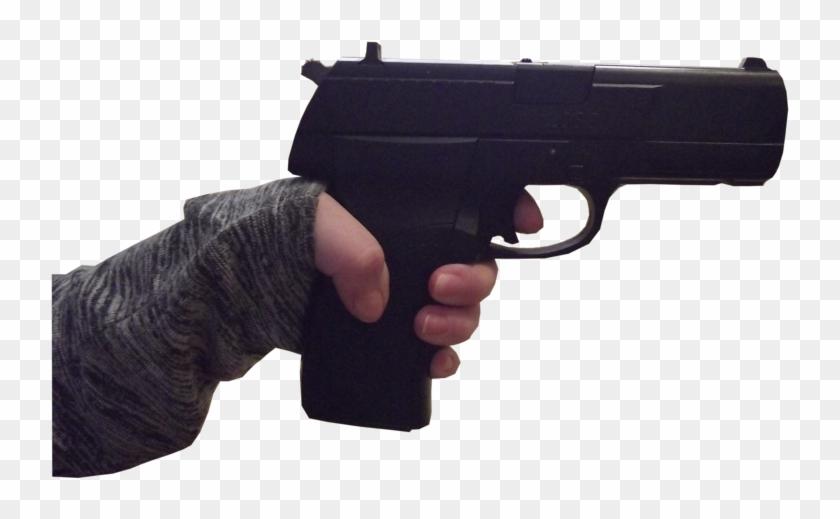 Handgun Transparent Hand Fortnite Default Skin Hd Png