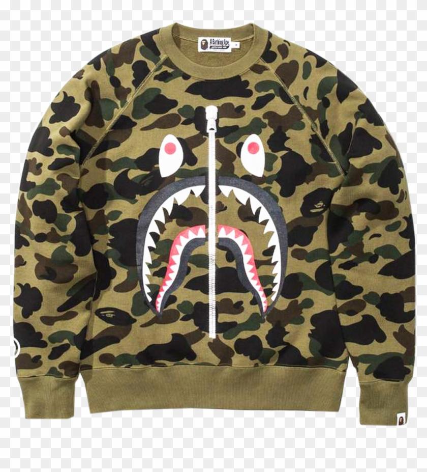 ee7a3c50f60c9 Bape Shark Png Source · 13990 Bape Full 1st Camo Shark Yellow Tee L Png Bape  Hoodie