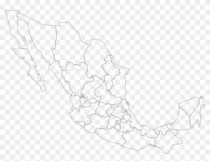 Map Mexico Political Mexican Png Image Mapas De Mexico Png Transparent Png 1280x922 2387310 Pngfind