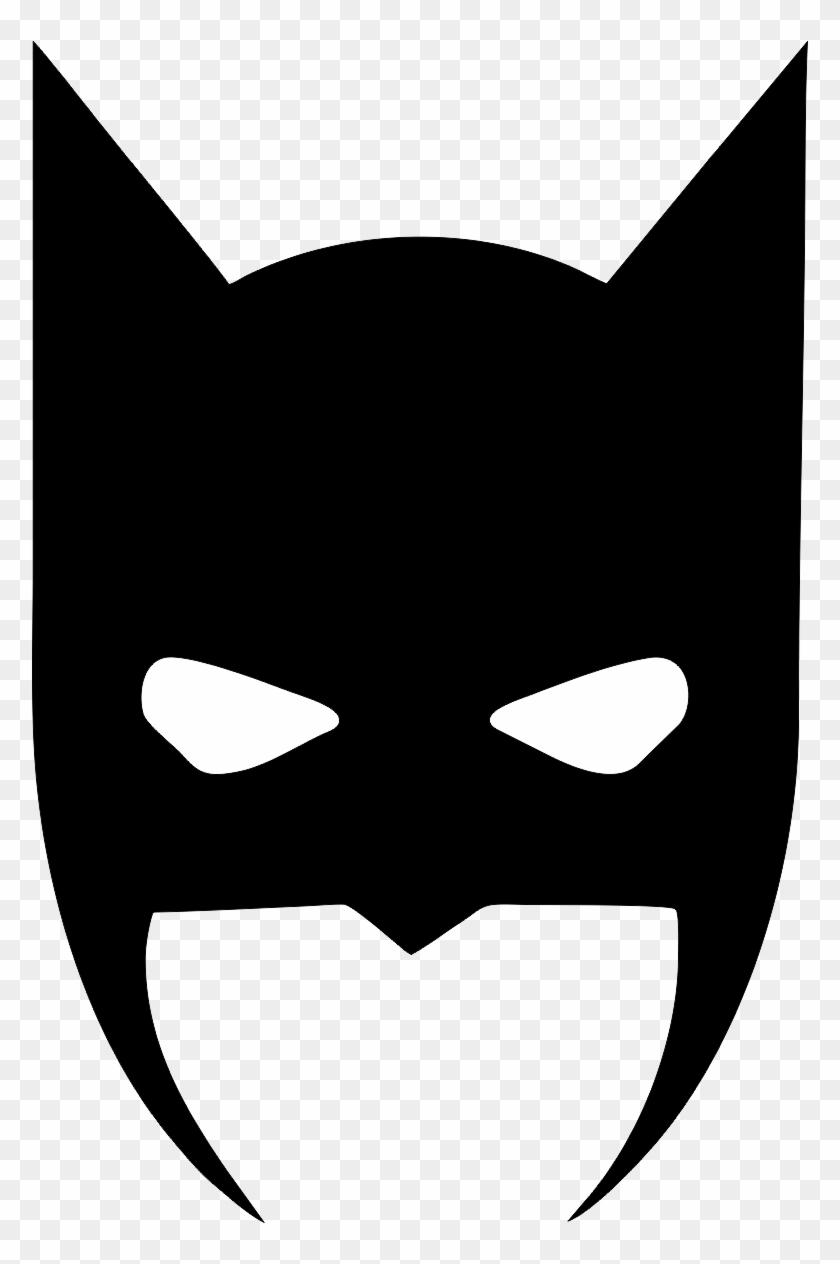 Batman Mask Vinyl Decal Sticker 6 Colours Batman Svg Hd Png Download 778x1184 2388108 Pngfind