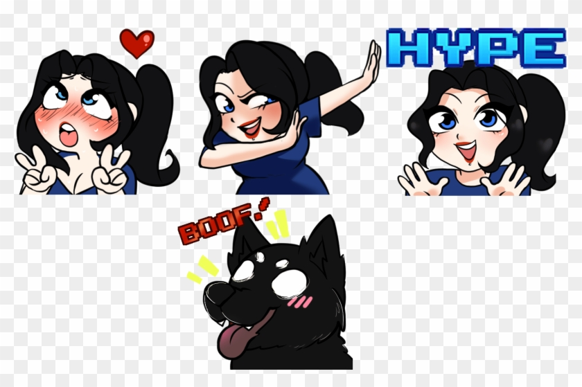 Twitch Emotes Hype, HD Png Download - 1515x977(#2390655