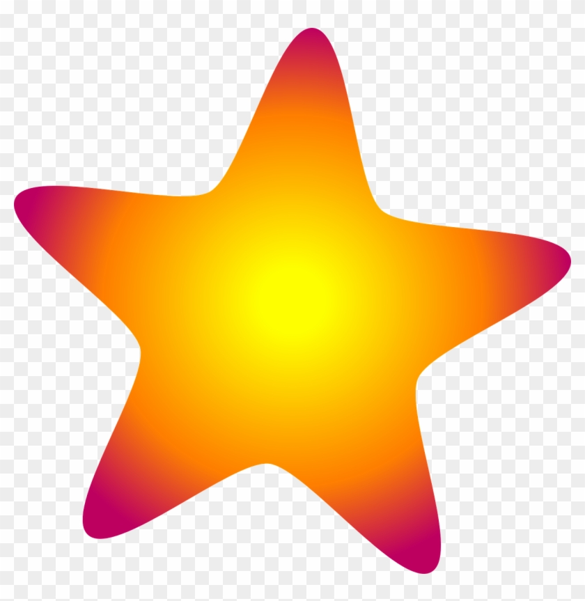 How To Set Use Glowing Star Svg Vector, HD Png Download