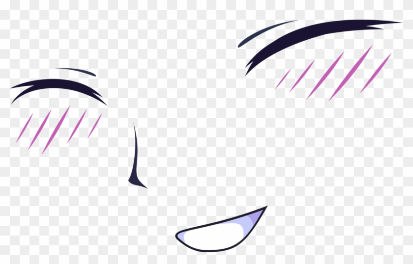 Blush Transparent Anime Closed Eyes Png Png Download 1160x688