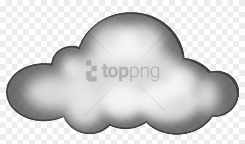 Free Png Clipart Clouds Png Image With Transparent - Dark
