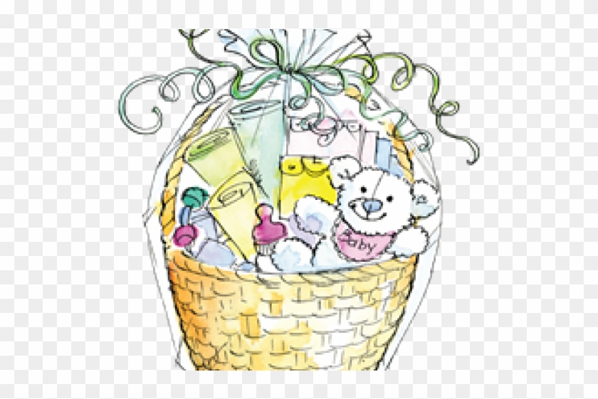 Basket Clipart Baby Shower Hd Png Download 640x480 2415767 Pngfind