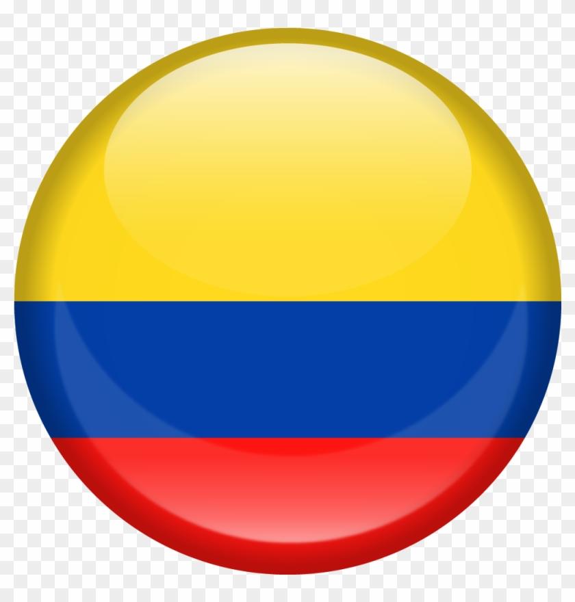 Colombia Es Cambiar De Bandera De Colombia Redonda Hd Png