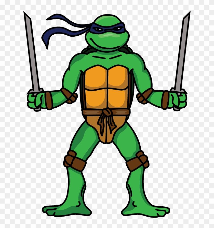 How To Draw Leonardo Teenage Mutant Ninja Turtles Leo Ninja Turtle Drawing Hd Png Download 720x1280 2422367 Pngfind