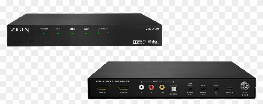 Zigen Zig-adm Dolby Digital / Dts Stereo Decoder & - Electronics, HD
