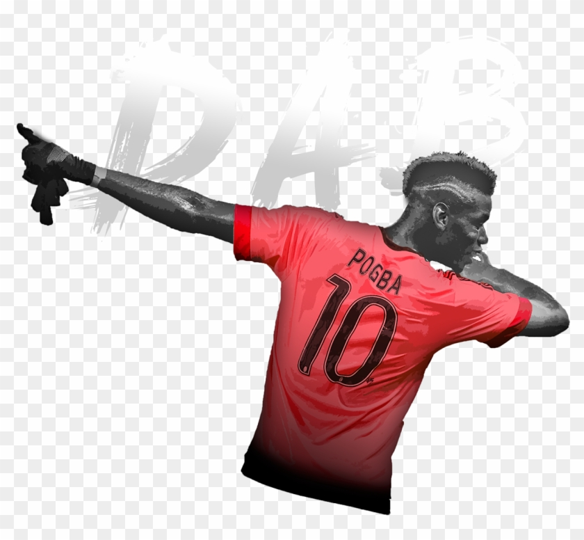 sale retailer 2a10e c1763 Pogba Dab Png Manchester , Png Download - Man Utd Pink Kit ...